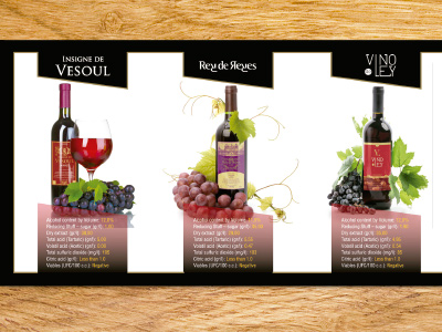 Proex Wines Catalogue